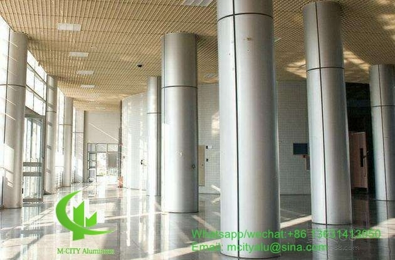 3mm metal aluminum cladding panel with powder coated for facade curtain wall column