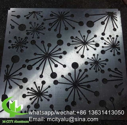 aluminum hollow panel carving panel sheet for curtain wall decoration