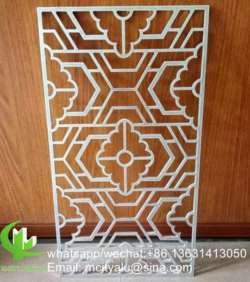 Aluminum hollow panel with frame for window decoration any size can be made