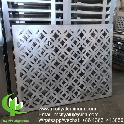 Wall cladding engraved aluminum decorative facade  panel exterior building curtain wall