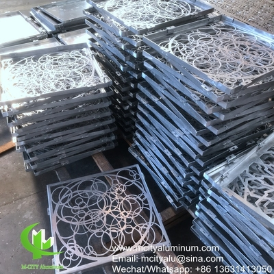 Circle design Aluminum panels for building facade customized metal sheet China manufacturer