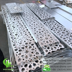China Decorative laser cutting Aluminum panel for building facade cladding supplier