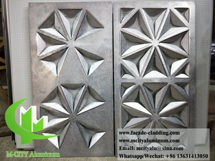 China Metal aluminum panel for curtain wall facade durable finish PPG supplier