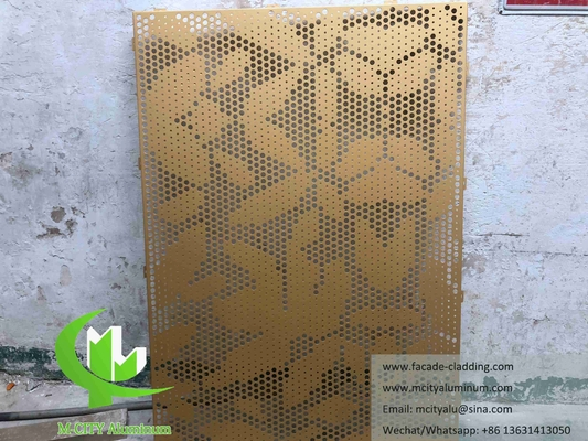Manufacturer of Exterior Architectural aluminum facade perforated panels for cladding