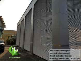 China Exterior Architectural aluminum mesh expanded screen panels for facade supplier