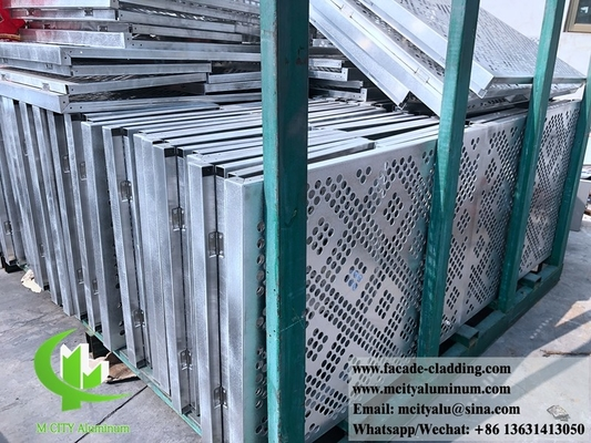 China Decorative metal sheet solid aluminum panel for wall cladding supplier