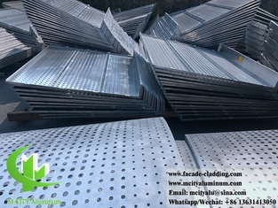 China Metal claddings panels metal facades aluminium panels for building supplier