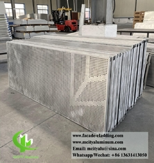 China External metal sheet for building exterior wall cladding decoration facade systems supplier
