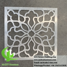 China 3mm hollow metal screen Aluminium panels decoration material for building wall facade cladding supplier