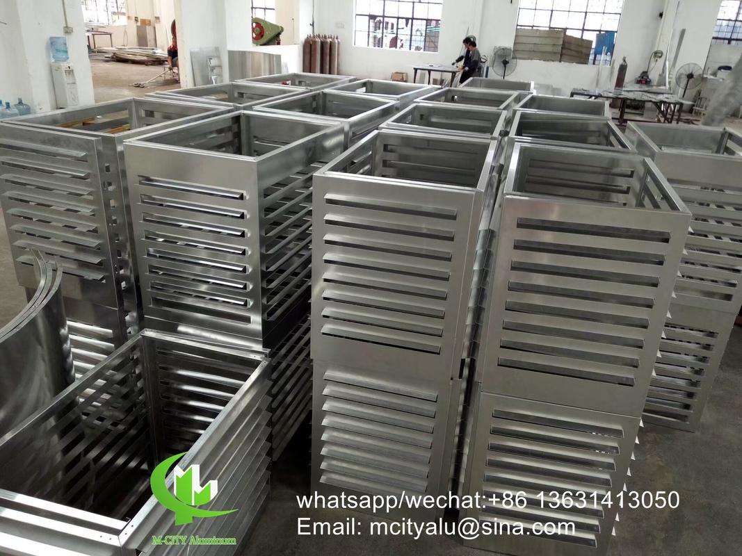 Air Conditioner Aluminum Cover Metal Facade Cladding