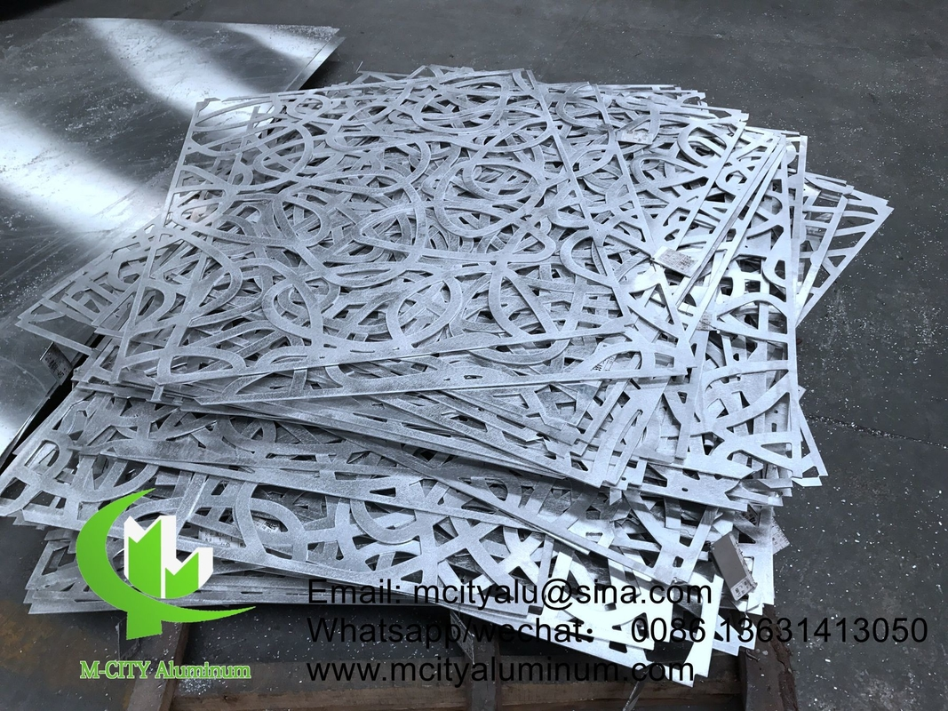 Laser Cut Sheet Powder Coated Aluminum Cnc Laser Cut