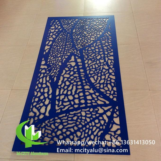 Perforated Aluminum Laser Cut Cnc Aluminum Screen Sheet