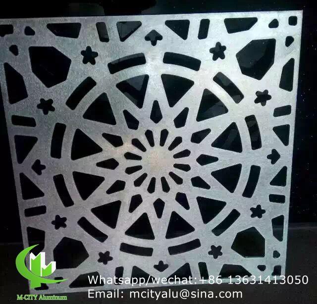 Flower Aluminum Cutting Hollow Screen With Various